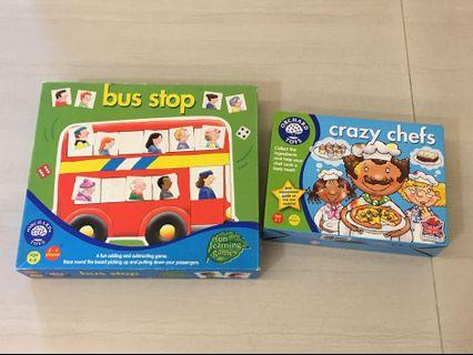 PL Bundle Orchard Toys - Bus Stop & Crazy Chefs