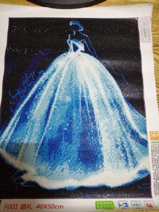 5D鑽石畫婚禮