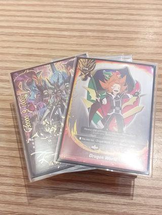 Buddyfight Dimension Dragon deck