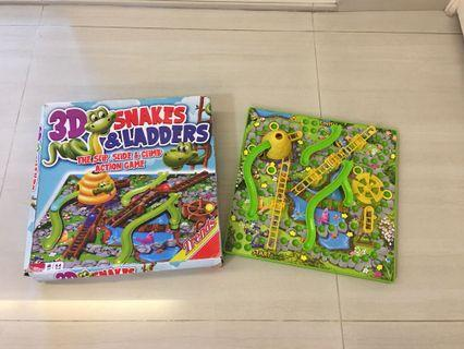 Preloved 3D Snakes & Ladders