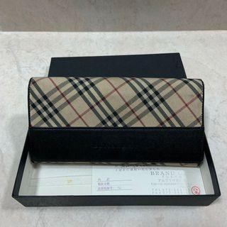 Authentic Burberry Long Wallet