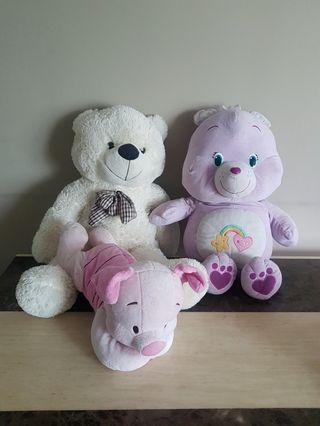 Soft Toys 3in $15
