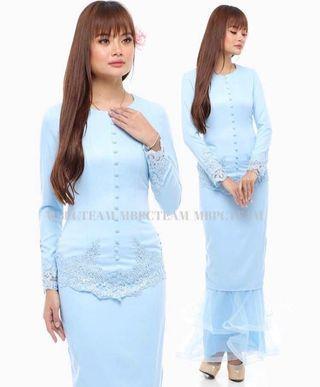 *INSTOCK* BNWT Baju Kurung in Baby Blue
