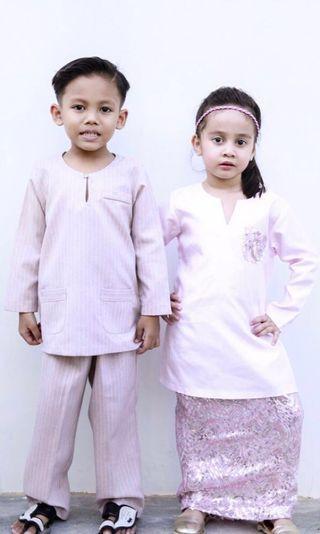 🚚 *INSTOCK* Adrianna Yariqa Baju Kurung (Boy) Size 1