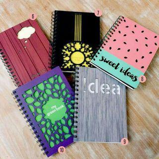 Custom Wood Cover Notebook