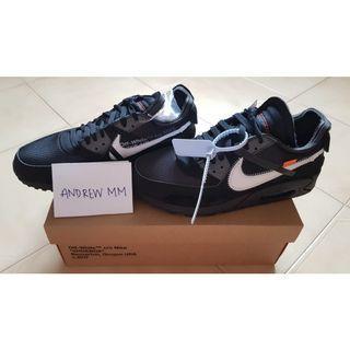 Off White Nike Air Max 90 Black