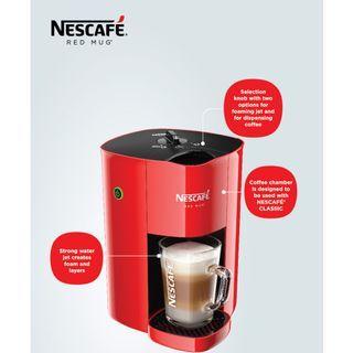 Nescafe RedMug coffee maker