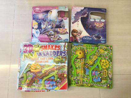 PL 3D Snake & Ladders & Disney Board Games