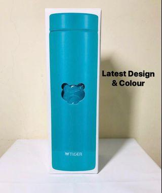 Tiger. 500ML. Ultra Light Weight. Stainless Steel Mug. Flask. Bottle. BPA FREE. MMZ-A501 AA. AQUA BLUE. AUTHENTIC.