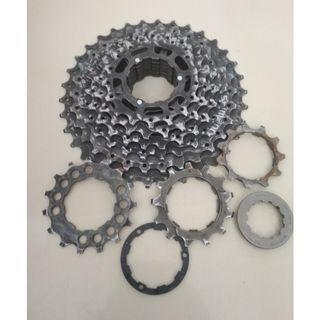[USED] Shimano Hyperglide 9 speed cassette (11-32T)