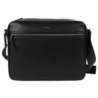 Paul Smith 100% Authentic City Embossed Leather Messenger Bag