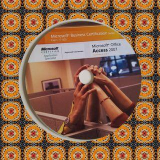 Microsoft Office Access 2007 courseware and CD