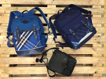 Beanpole Backpack and sling bag