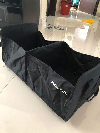Honda original boot organiser