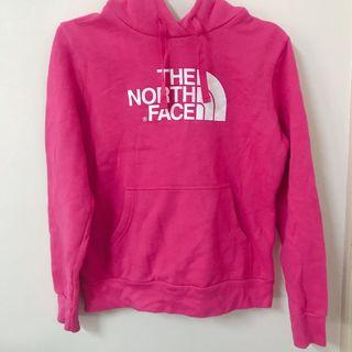🚚 The north face 粉色連帽上衣