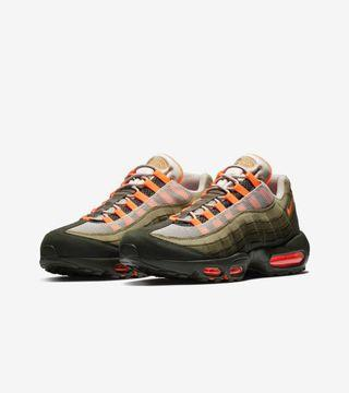 US11.5 Nike Air Max 95 Neutral Olive Total Orange