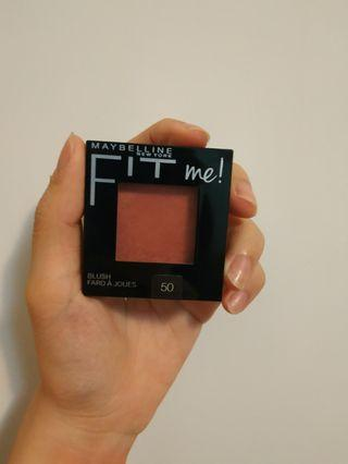Maybelline Fit me 腮紅 #50紅酒