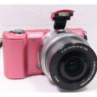 Sony Alpha A5000 Pink color with Kitlens 16-50 OSS