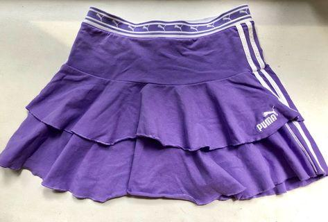 Puma Tennis skirt girl size XL fits women XS / S