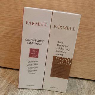 FARMELL 法媚兒 玫瑰黃金藍銅去角質膠 買一送一