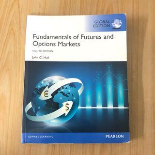 🚚 Fundamentals of futures and options markets 8e 二手