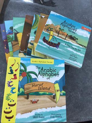 🚚 The Arabic Alphabet of Huruf Island Series book