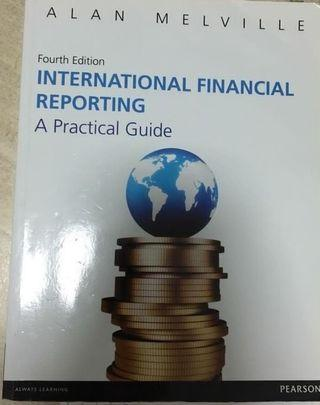 🚚 International Financial Reporting by Alan Melville (4th edition)