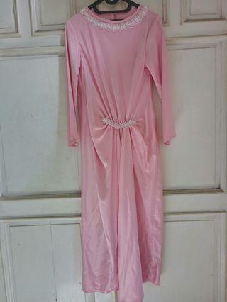 Gamis baby pink