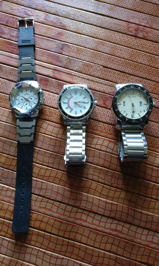 Seiko, Bulgari, Matrex Watches