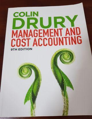 🚚 Management and Cost Accounting by Colin Drury (9th edition)