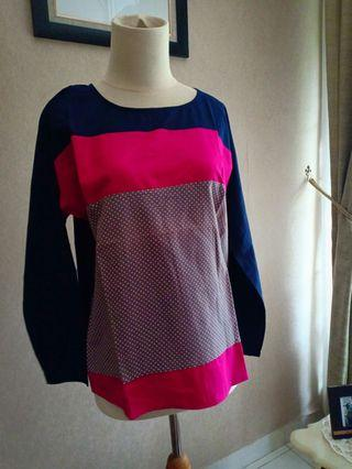 #bapau Blouse by Madam Rich