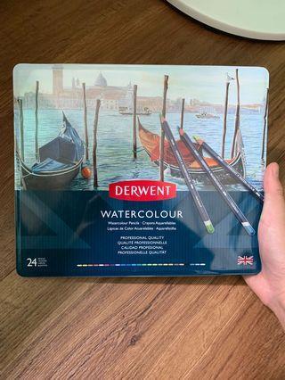 Derwent 24 Watercolour Pencils