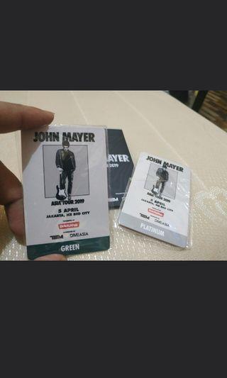 RFID John MAYER merchandise
