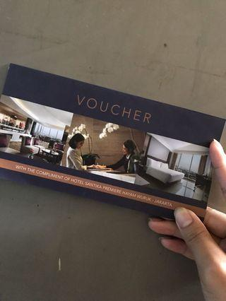 Voucher Hotel Santika
