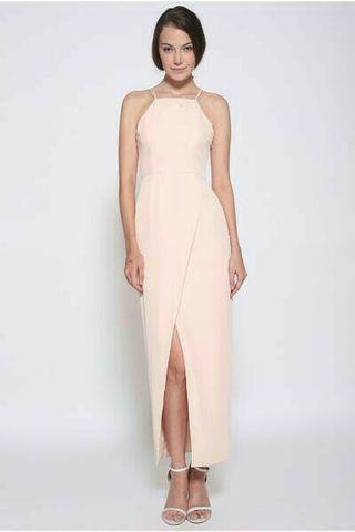 BNWOT Love Bonito Davonna Foldover Maxi Dress