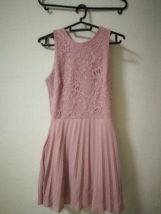 Fayth pink dress