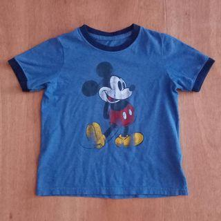 Mickey Mouse  ringer hanes