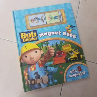 Pre❤ Bob the Builder Magnet Book