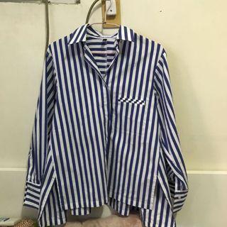 🚚 直條紋襯衫