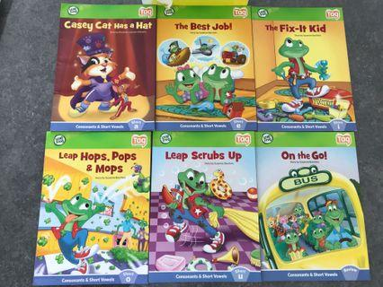🚚 LeapFrog Tag reading system books set