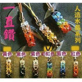 (施華洛世奇水晶)手作串珠-一直鑽水晶串珠(1入)(淺草綠)