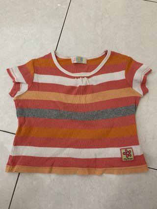 Strip Toddler T shirt