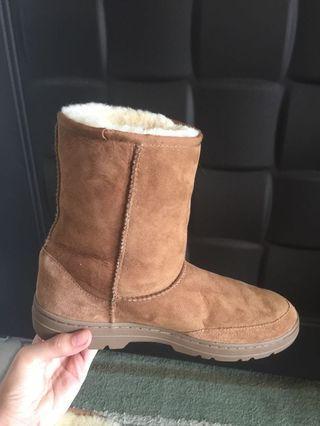 Costco 雪靴 大尺碼 US 9 US 10