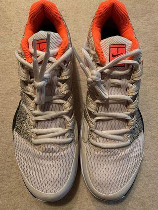 Nike Air Zoom Vapour Tour X (Cream/Orange/Light Blue)