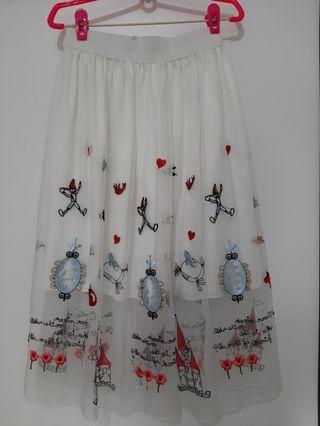 🚚 Pretty fairytale doll skirt