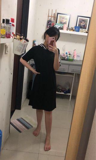 BLACK DRESS - DRESS HITAM/CASUAL black DRESS