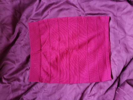 🚚 Pink Bandage Skirt