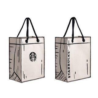 🚚 Starbucks Classic Canvas Tote Bag