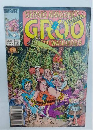 Sergio Aragone's Groo The Wanderer #24 ( Marvel Comics )