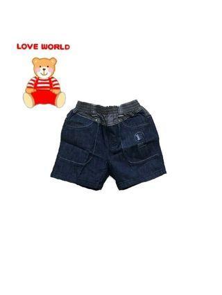 📣免運📣全新 愛的世界LOVE WORLD 海洋季系列男童牛仔褲/短褲(4A/100-105cm)